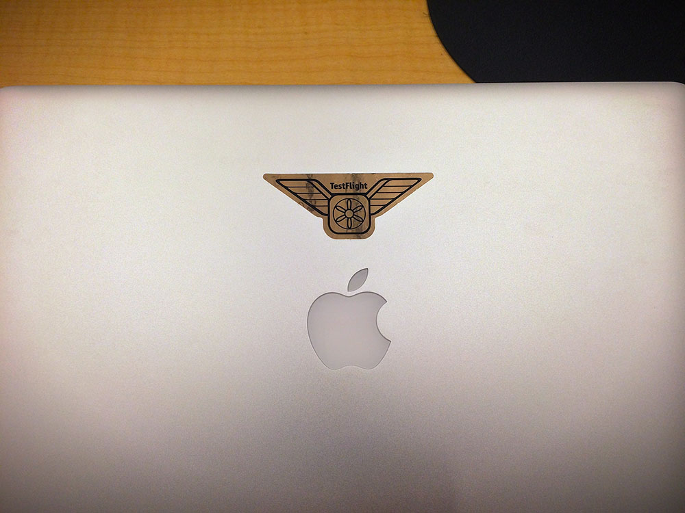 Testflight sticker